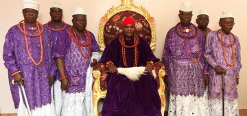Ovie Of Umiaghwa Abraka Kingdom, Delta State Nigeria